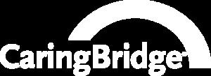 CaringBridge logo(white)